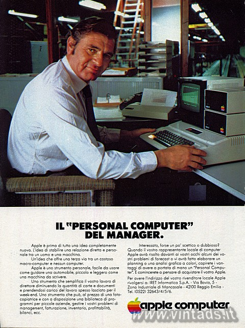 "IL ""PERSONAL COMPUTER"" DEL MANAGER.