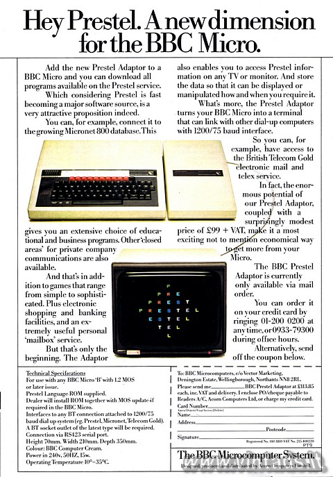 A new dimension for the BBC Micro.