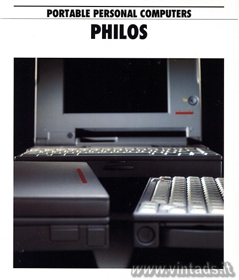 Olivetti Portable Personal Computers Philos