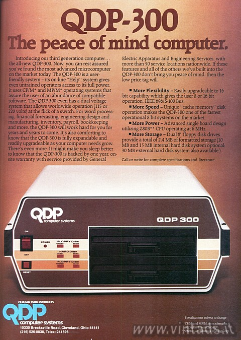 QDP-300 The Peace of Mind Computer