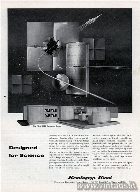 the E. R. A. 1103 computing system