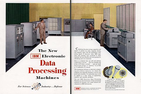 The New IBM Electronic Data Processing Machines