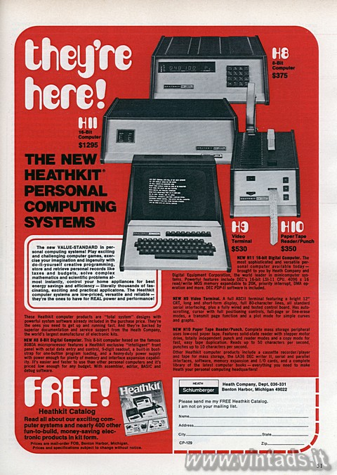 They're Here!