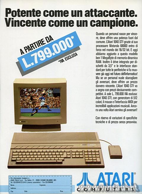 Atari, potente e vincente