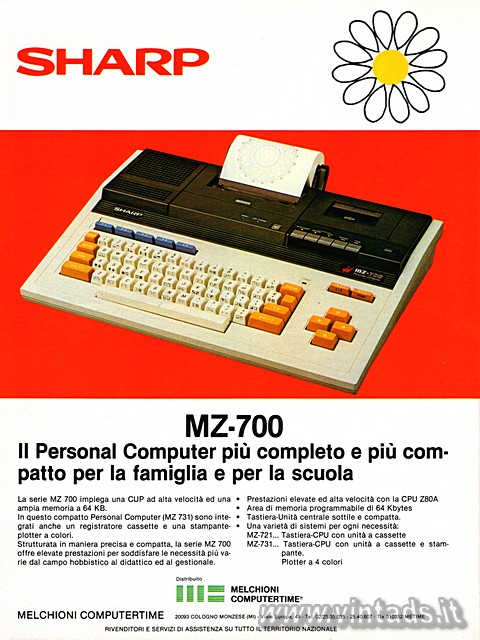 Il Personal Computer più completo e più compatto