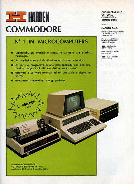 HARDEN COMMODORE