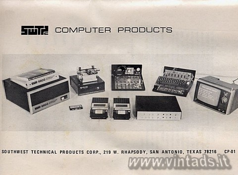 SWTPC COMPUTER PRODUCTS