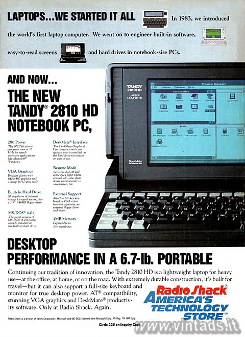 LAPTOPS... WE STARTED IT ALL 