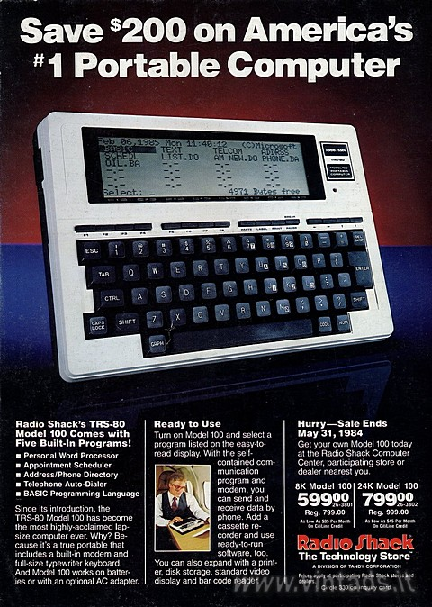 Save $200 on America's #1 Portable Computer