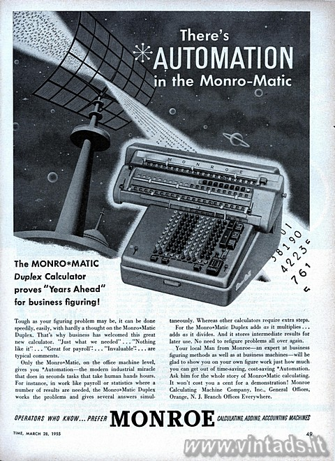 There's AUTOMATION in the Monro-Matic