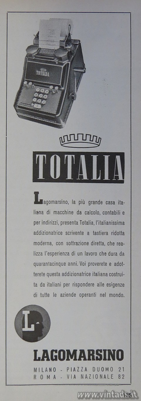 Totalia di Lagomarsino
