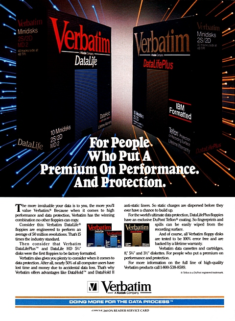 For people who put a premium on performance. And protection.