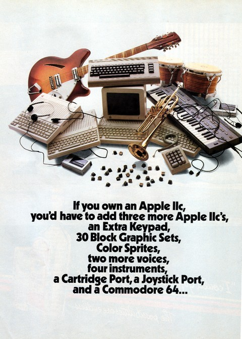 If you own an Apple IIc,