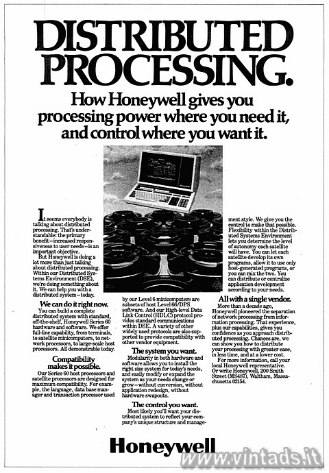 DISTRIBUTED PROCESSING.