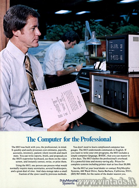 The Computer for the Professional