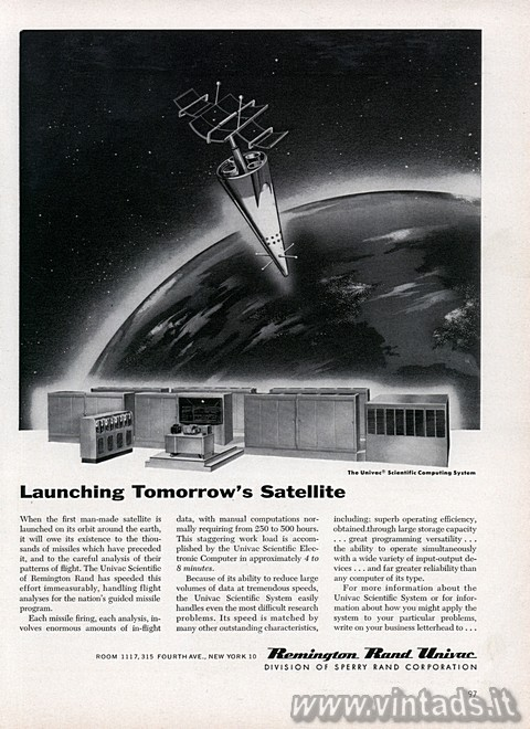 Launching Tomorrow's Satellite