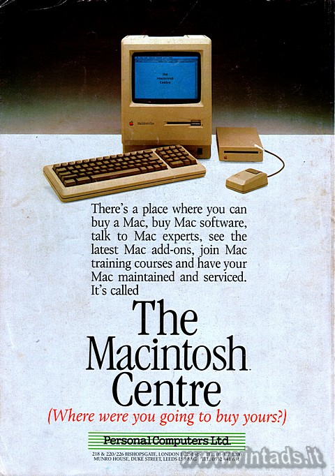 There's a place where you can buy a Mac, buy Mac software, talk to Mac exper