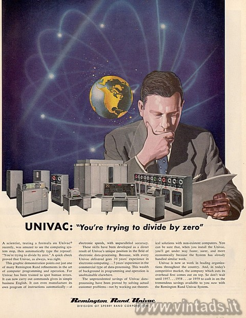 "UNIVAC: ""You're Trying to Divide by Zero""